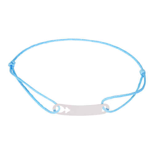 Photo de Bracelet petit garçon - Or blanc 9ct