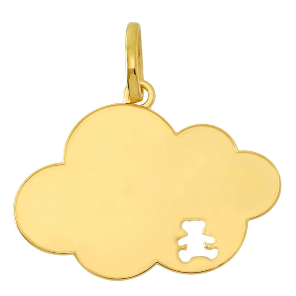 Photo de Pendentif nuage LuluCastagnette - Or jaune 9ct