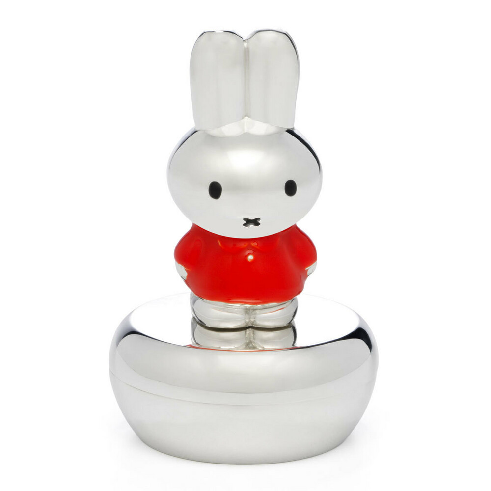 Photo de Boite à dents de lait Lapin Miffy Rouge