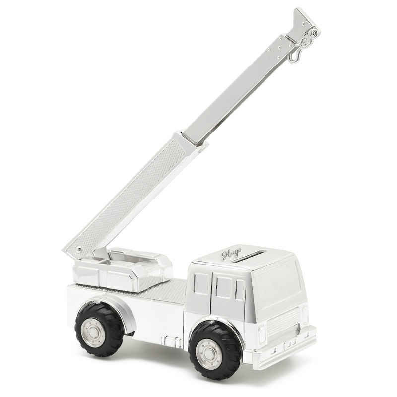 Photo de Tirelire enfant camion grue