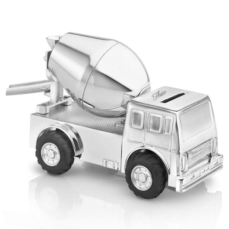 Photo de Tirelire enfant camion de ciment