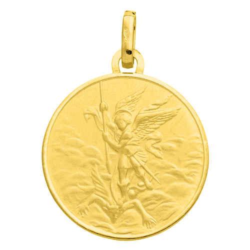 Photo de Médaille Saint Michel - Or jaune 18ct
