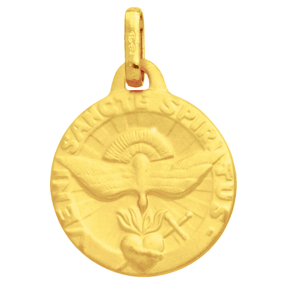 Photo de Médaille Saint Esprit - Or jaune 18ct