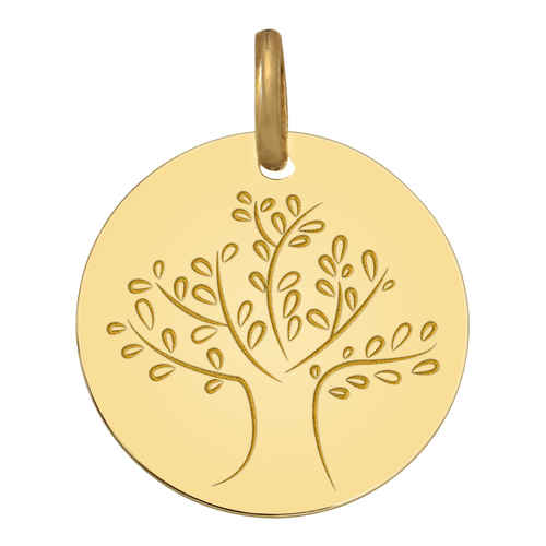 Photo de Médaille Arbre de vie magnifique - Or jaune 9ct
