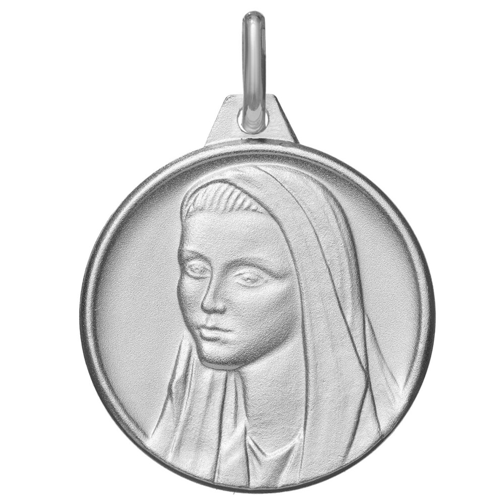 Photo de Médaille Vierge Marie douceur - Argent massif