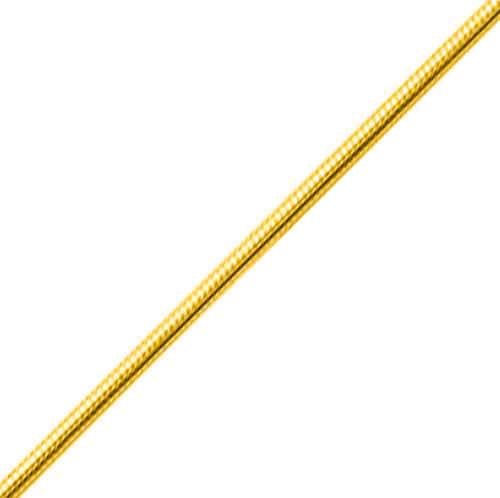 Photo de Bracelet maille serpentine ronde - Or jaune 18ct
