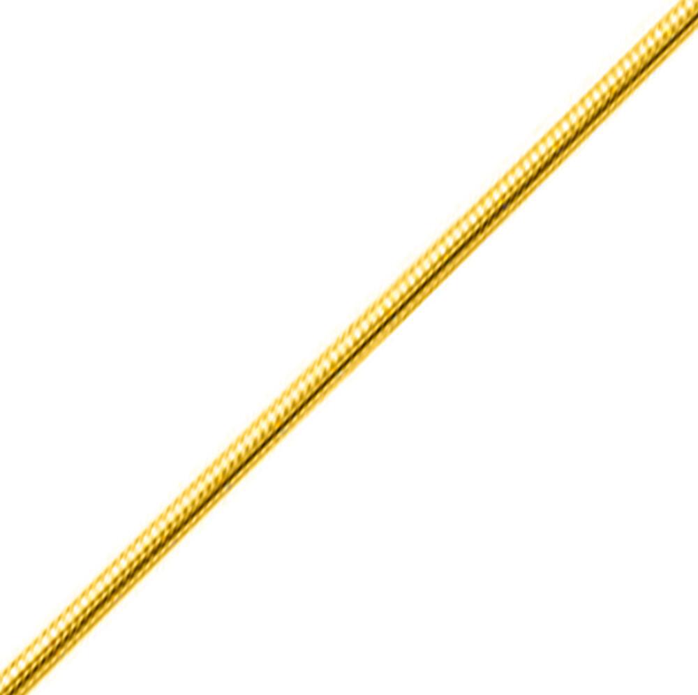 Photo de Chaine serpentine - Or jaune 18ct