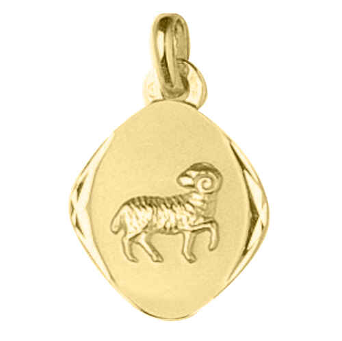 Photo de Pendentif signe astrologique - Or jaune 18ct
