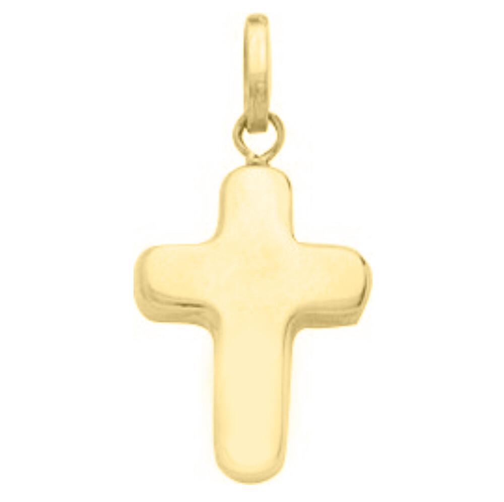 Photo de Croix creuse - Or jaune 18ct