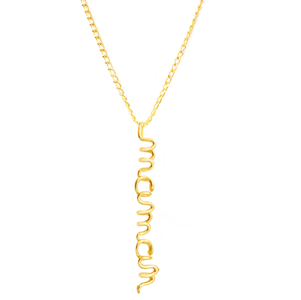 Photo de Collier maman - gold filled 14ct