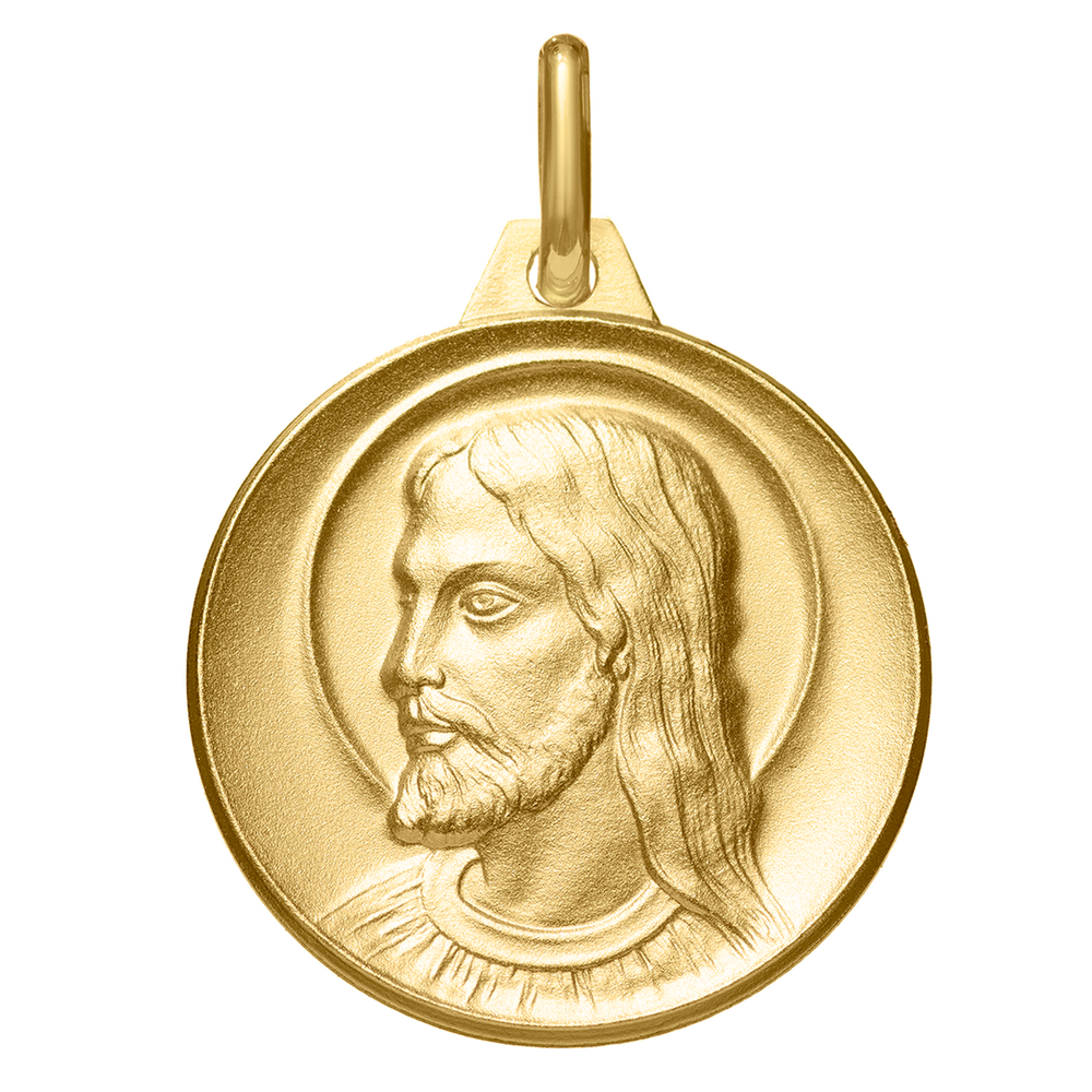 Photo de Médaille Christ - Or jaune 18ct