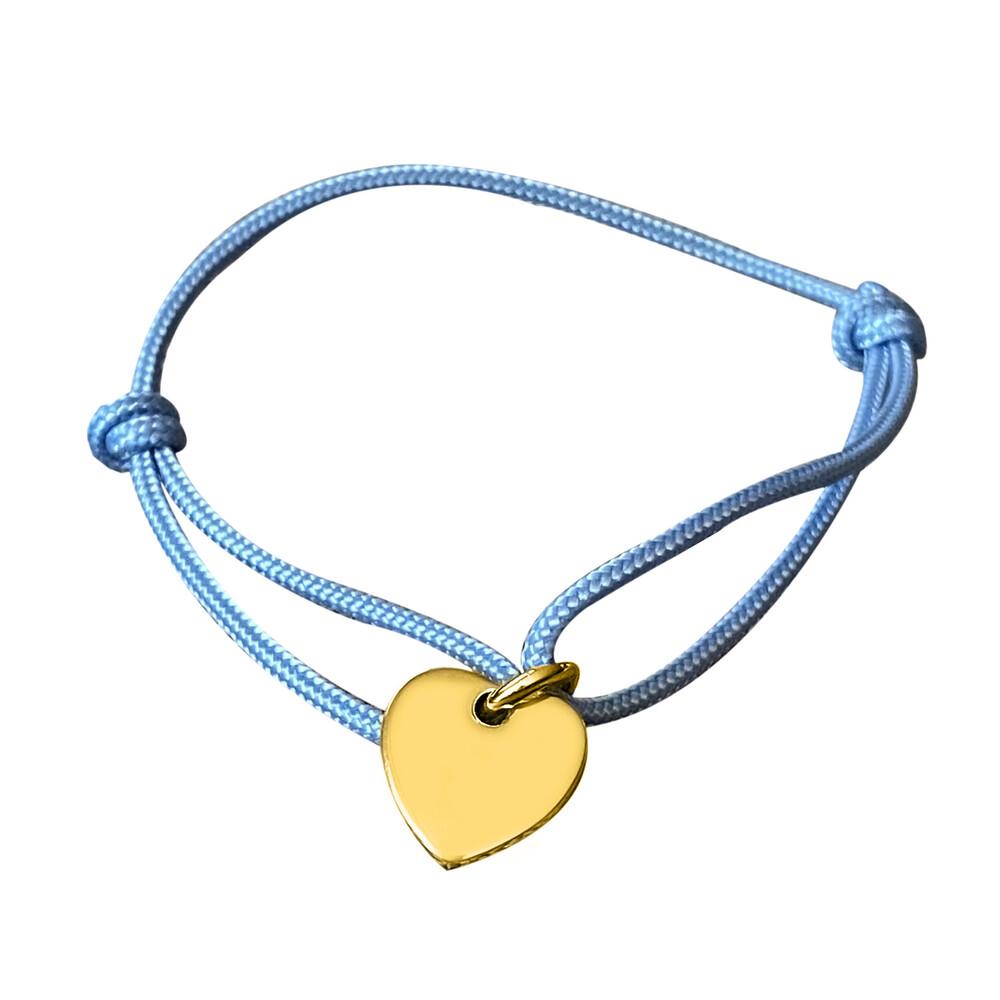 Photo de Bracelet médaille petit grancoeur - plaqué or