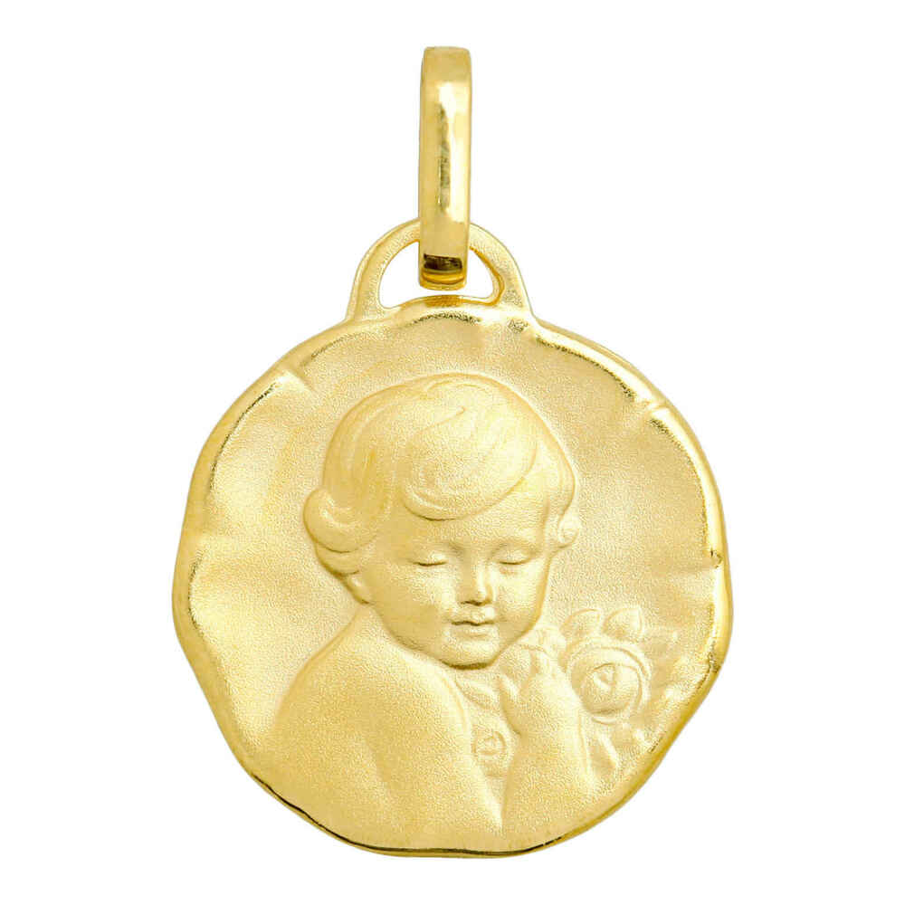 Photo de Médaille Chérubin - Or jaune 9ct