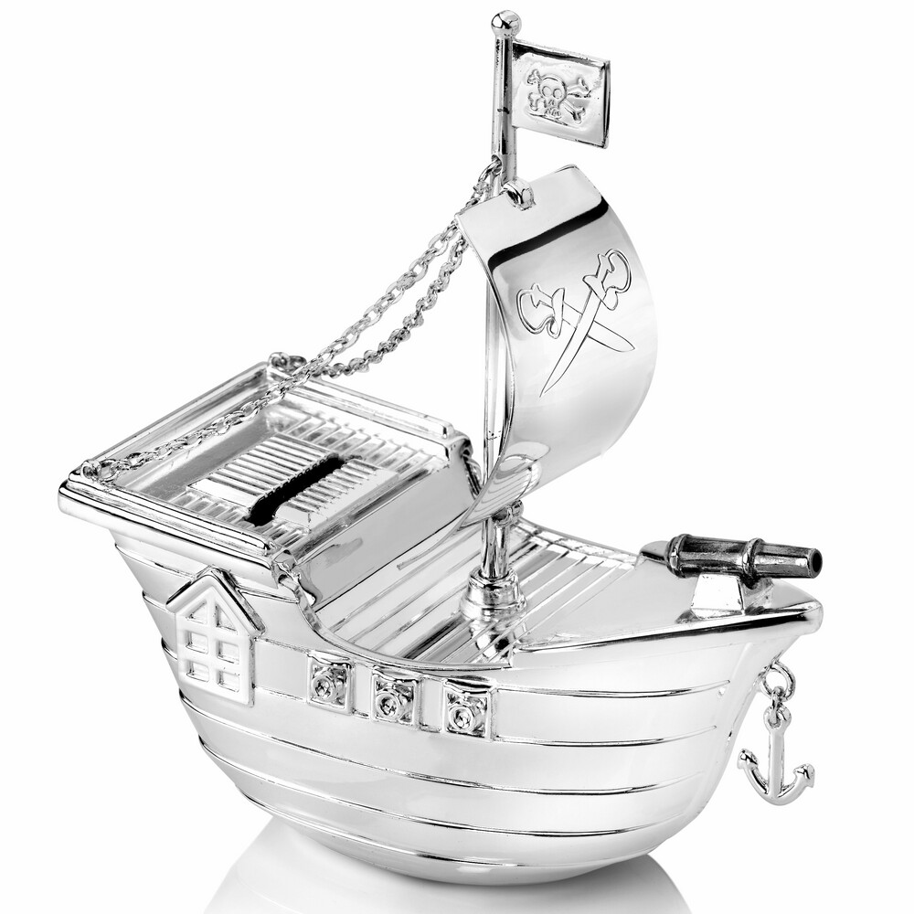 Photo de Tirelire enfant Bateau de pirates