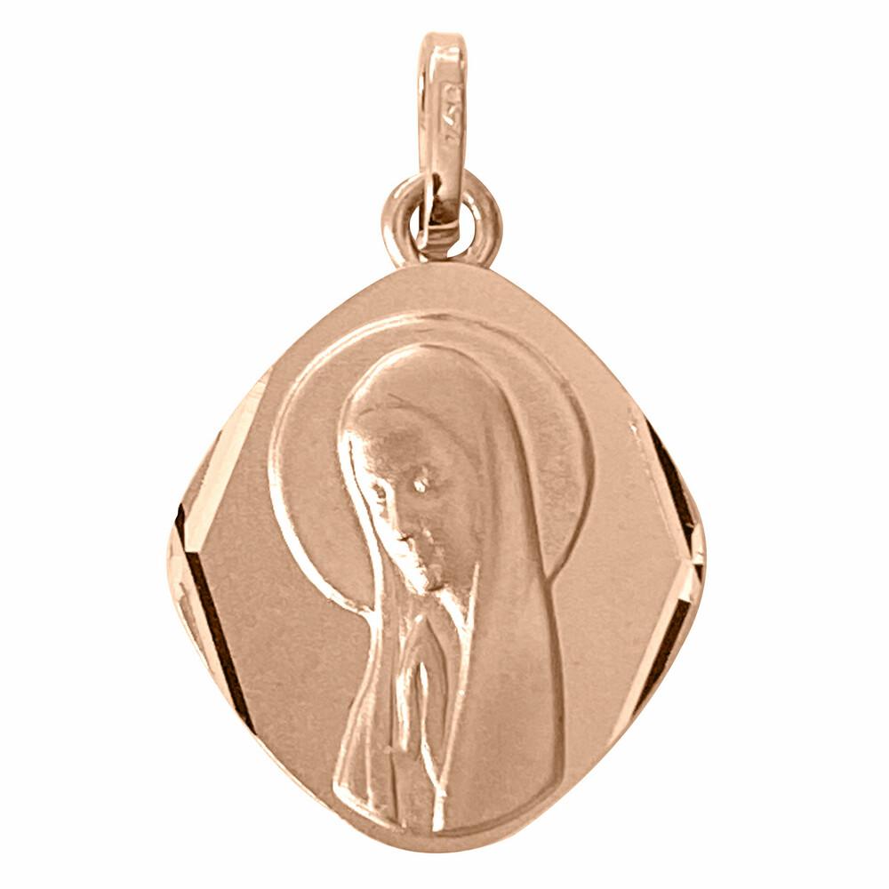Photo de Médaille Vierge - Or rose 18ct