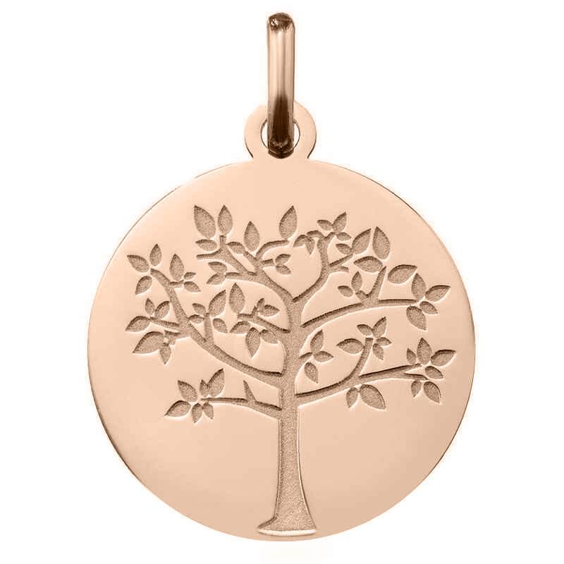 Photo de Médaille Arbre de vie printanier - Or rose 18ct